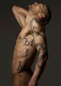 Tatted man