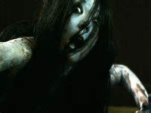 Grudge lady