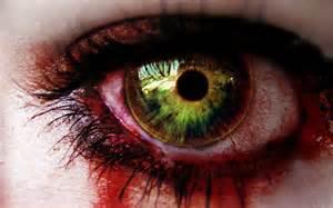 crying green eye