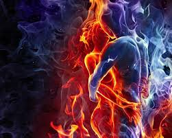 Fiery couple